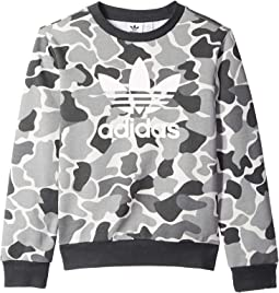 Trefoil Camo Crew (Little Kids/Big Kids)