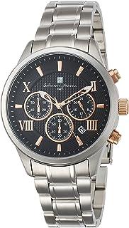 [サルバトーレマーラ]Salvatore Marra メンズ腕時計 サルバトーレマーラ クロノグラフ SM15102-SSBKPG メンズ 【正規輸入品】