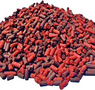 Aquatic Foods Inc. S&B Blackworm & Beef Heart Mix Bit/Sticks, for Discus, Cichlids, Carnivores and More
