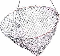 "Frabill Bridge/Pier Net | 36"" Diameter Fishing Net Pre-Rigged with 50 Feet of Rope, Black (1002)"