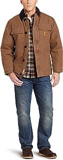 Carhartt Men's Big & Tall Arctic-Quilt Lined Sandstone Duck Traditional Coat C26