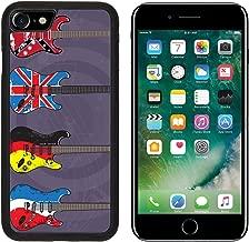 MSD Premium Apple iPhone 7 Aluminum Backplate Bumper Snap Case iPhone7 Electric Guitars art vector Pack 6 IMAGE 34079475