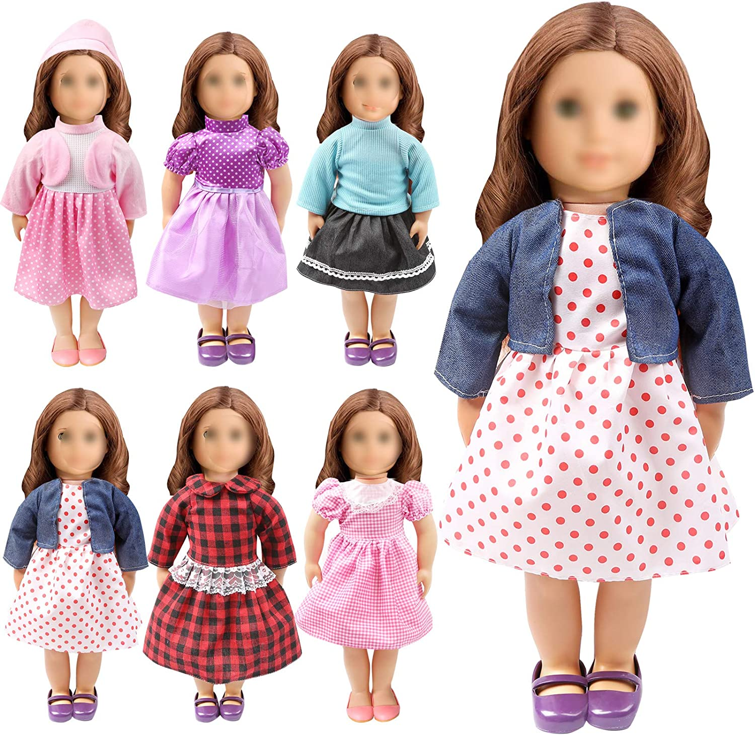 store OUFOTAT 18 Inch Doll Clothes - American In Girl Ranking TOP9 for