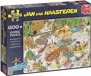 Jumbo 19015 Jan Van Haasteren Wildwater-Rafting Puzzel, 1500 Stukjes
