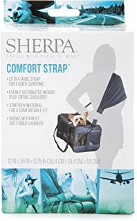 Sherpa Travel Pet Carrier Accessory, Comfort Strap, Black