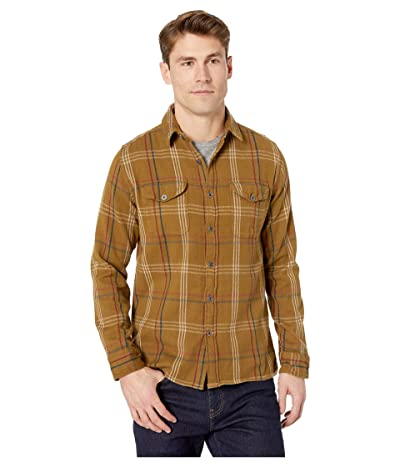 Iron and Resin Meridian Flannel Shirt (Timber) Men