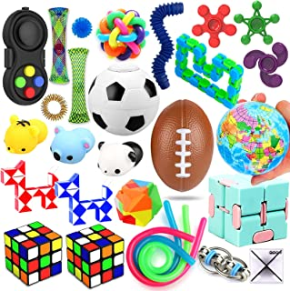 28 Pack Sensory Toys Set, Relieves Stress and Anxiety...