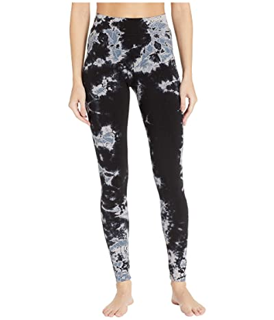 Hard Tail High Rise Ankle Leggings (Two-Color Iceberg) Women