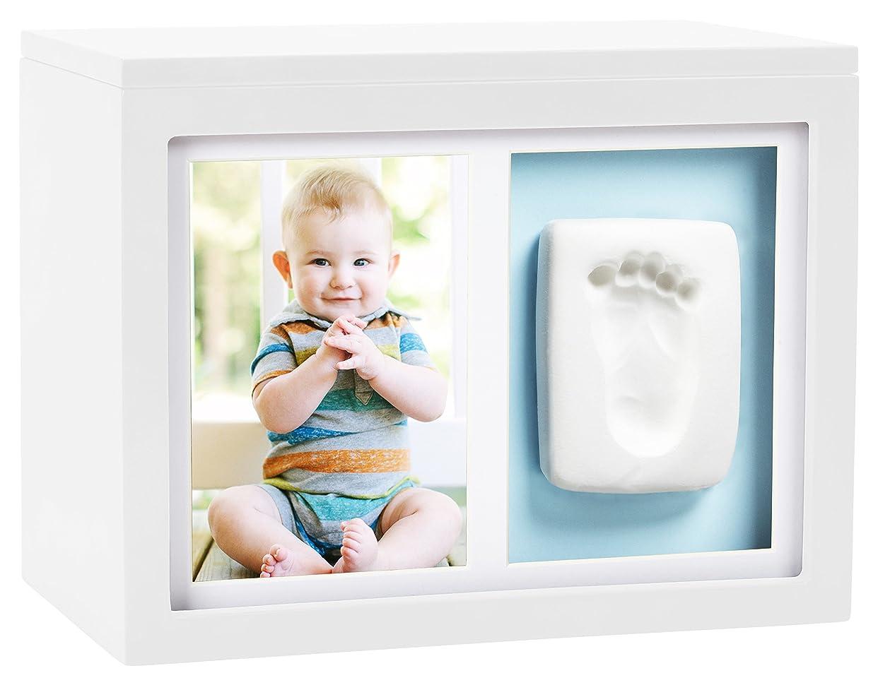 ホテル証明書再びPearhead Babyprintsインプリントキット付きホワイトボックス、ホワイト