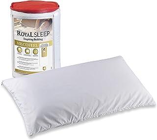 ROYAL SLEEP Pack de 2 Almohadas viscoelásticas de firmeza Media 70 cm, adaptabilidad Total, Fabricadas en España