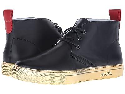 Del Toro High Top Chukka Sneaker (Black/Gold) Men