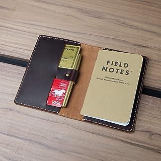 Coal Creek Leather Field Notes Cover/Moleskine Cover - Full Grain Wickett & Craig Leather/Moleskine Wallet/Minimalist/Monogrammed/Personalized