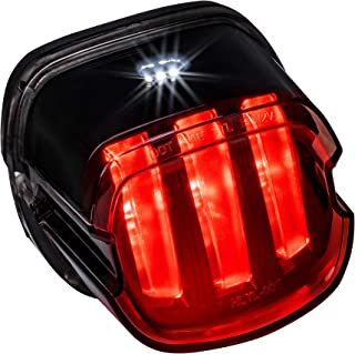 Harley LED Brake Tail Light [DOT Approved] [Claw-Design] [Plug-n-Play] - License Running Tail Brake Light for Harley Davidson Sportster Dyna Fatboy Softail Road King Glide Electra Heritage