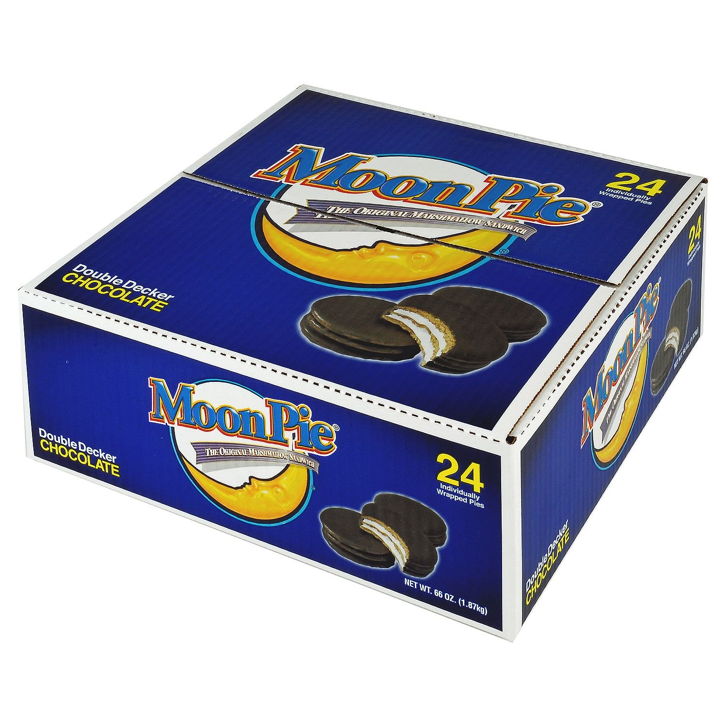 MoonPie Chocolate Double Decker MoonPies - 6 ct. of pack Max 66% OFF All items free shipping 24