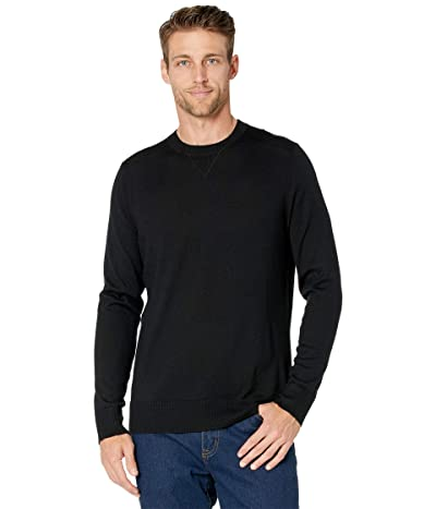 Smartwool Sparwood Crew Sweater (Black) Men