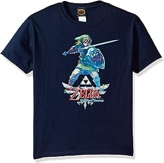 Nintendo Boys' Zelda Skyward Link Graphic T-shirt