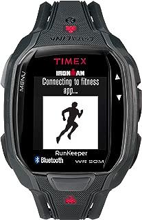 Timex Ironman Run Men's Grey Dial Resin Band Watch - Tw5K84600, Black Band, Digital Display