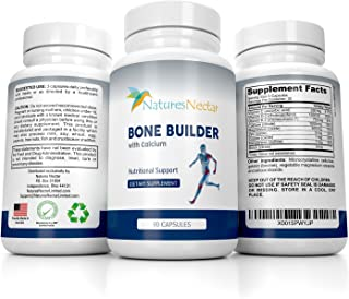 Bone Builder Joint Supplements for Women - Increased Bone Health Plus New Growth - Fights Osteoporosis - Bone Strength For...