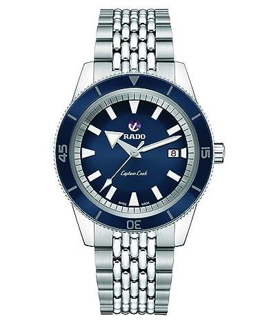 RADO Captain Cook 42mm Automatic Watch Set (Blue) Watches