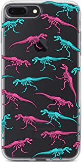 iPhone 6 Plus Case,iPhone 6S Plus Case,Novel Dinosaur Animal Pattern Air Cushion Technology Shock Absorption Anti-Scratch Clear Rubber Case Cover for Apple iPhone 6/6S Plus 5.5 Inch