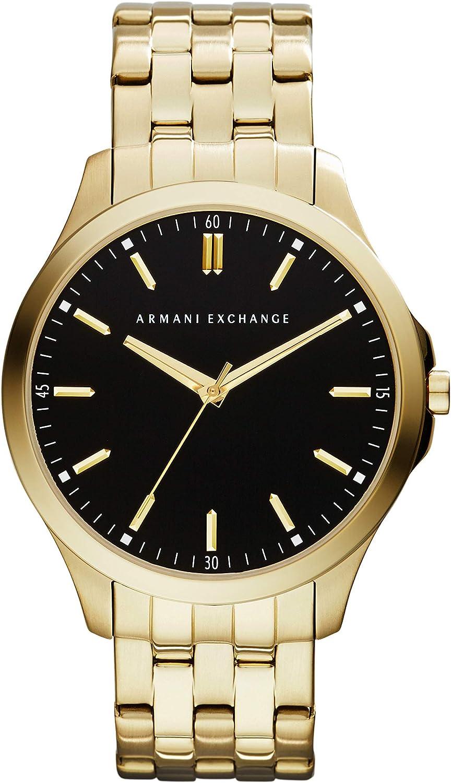 Armani Exchange Men's Stainless Steel Three Hand Dress Watch
