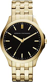 Armani Exchange Hampton Slim Stainless Steel Three-Hand Watch