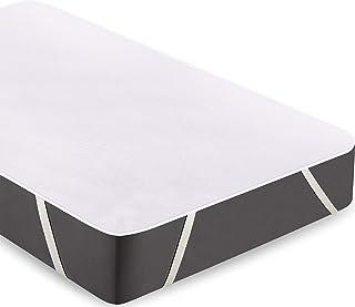 Utopia Bedding Terry Protector de Colchón Impermeable - Funda de Colchón de Algodón Transpirable con Esquinas Elásticas (180 x 200 cm, Super King)