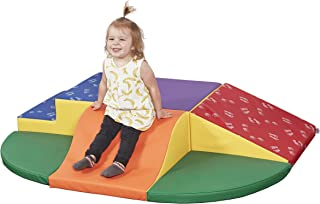 ECR4Kids SoftZone Little Me Foam Wall Climber - Indoor Active Play Structure for Toddlers and Kids - Soft Foam Play Set, Primary