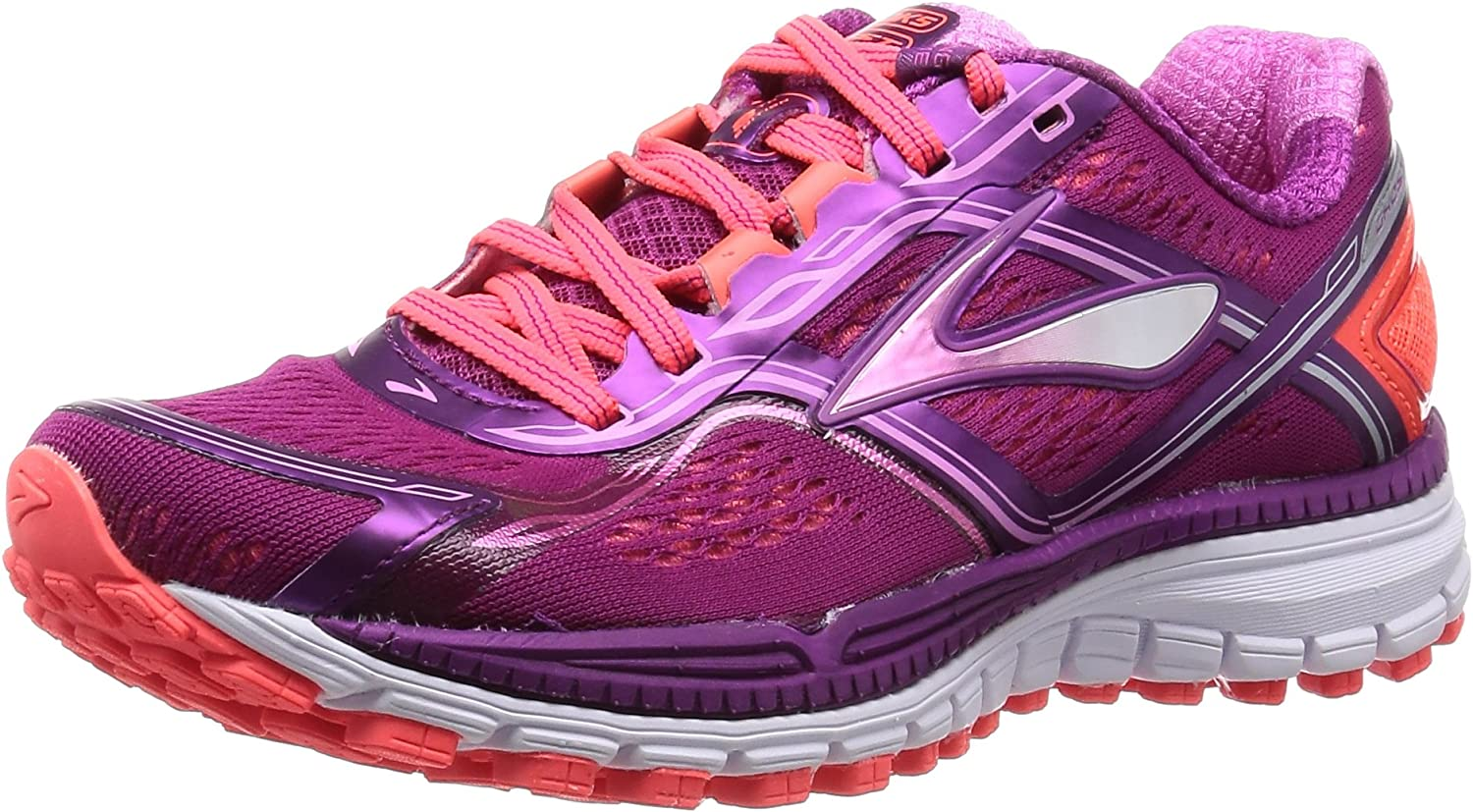 Brooks Damen Ghost 8 Laufschuhe, lilat