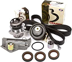 Evergreen TBK306BHWPT Fits 01-06 Audi TT Volkswagen Jetta 1.8L TURBO Timing Belt Kit Water Pump