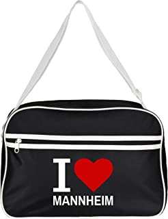 Bolso Classic Retro I Love Mannheim colour negro