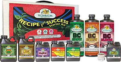 Technaflora Recipe For Success Kit Recipe for Success Starter Kit (6/Cs)