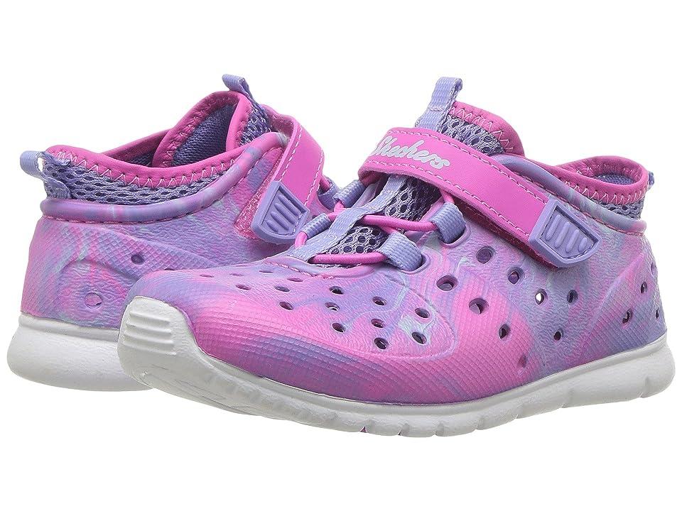 SKECHERS KIDS Hydrozooms (Toddler) (Pink/Multi) Girl