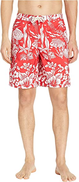 2e82a3f6eeca1 Polo Ralph Lauren. Midnight Floral Traveler Swim Trunks. $85.00. Underwater  Coral