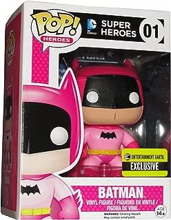 Pink Batman Pop 75th Anniversary Pink Rainbow Batman Vinyl Figure Entertainment Earth Exclusive