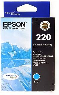 Epson Dura Brite-Ultra Standard Capacity Ink Printer Cartridge, Cyan, 75171
