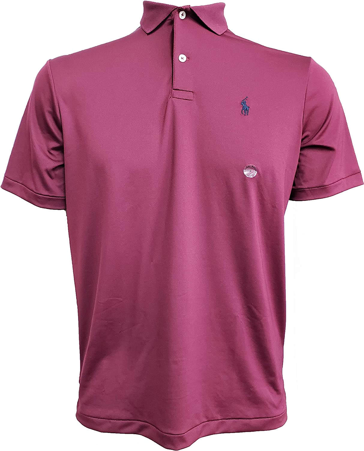 Max 66% OFF Polo Ralph Lauren NEW before selling ☆ Mens Performance Sm Interlock Red Shirt
