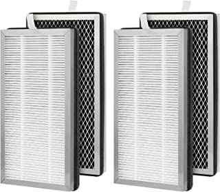 isinlive 2 Set MA-15 Replacement Filter Compatible with Medify Air MA-15 Air Purifier, 3-in-1 H13 True HEPA Filters and High-Efficiency Activated Carbon Filter