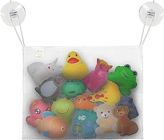 اسباب بازی حمام LITTLE BEBE Mesh with 2 Suction Cups، Baby Toy Storage Storage mesh mesh حمام تور برای اسباب بازی ها، Cathdy Shower Caddy for Kids and Toddlers