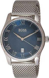 Hugo Boss Black Men'S Blue Dial Stainless Steel Watch - 1513737