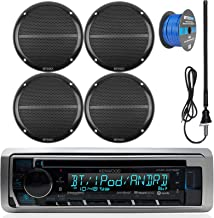 Kenwood Marine Boat Outdoor Bluetooth CD MP3 USB/AUX iPod iPhone Stereo Receiver 4x 6.5