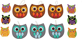 Creative Hands Arts and Crafts for Kids - Owl Play Date Bundle Gift Set- Owl Foam Craft Kit - 2 Crafting Kits
