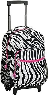 pink zebra backpack
