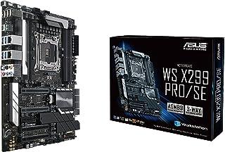 ASUS WS X299 PRO/SE LGA2066 DDR4 M.2 U.2 ATX Motherboard for Intel Core X-Series Processors with SafeSlot