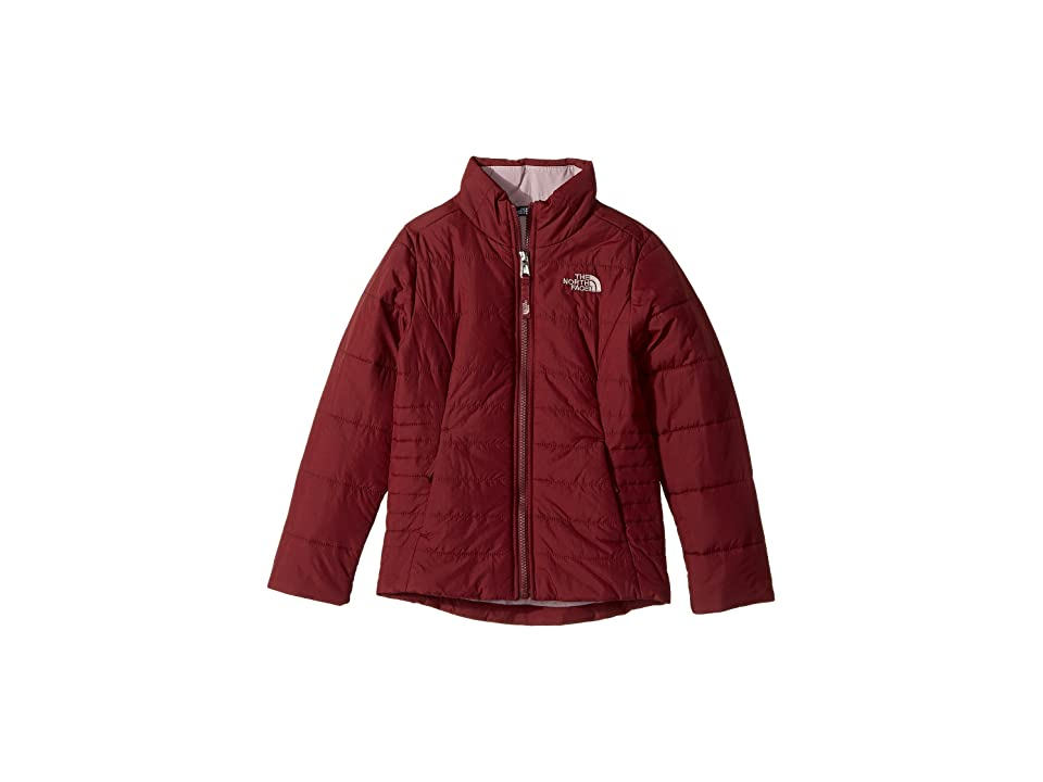 The North Face Kids All Season Insulated Jacket (Little Kids/Big Kids) (Zinfandel Red/Quail Grey (Prior Season)) Girl