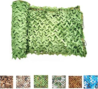 XAMAWA Camouflage Netting, 300D and 130D Durable Camo Net Blinds Great for Camping Shooting Hunting
