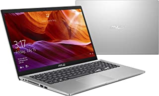 Asus Vivobook X509JB-EJ204T Laptop (Transparent Silver) - Intel Core i7-1065G7 Processor 1.3 GHz, 8GB RAM, 512GB SSD, Nvidia GeForce MX110 2GB, 15.6 inches, Windows 10 Home, Eng-Arb-KB