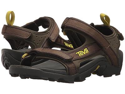 Teva Kids Tanza (Little Kid/Big Kid) (Black Olive 1) Boys Shoes
