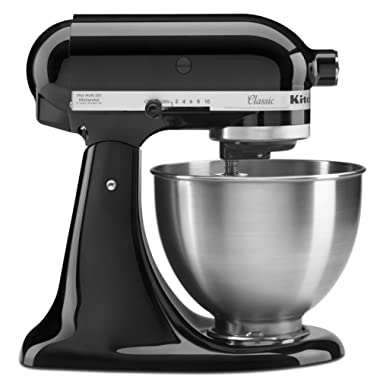 KitchenAid KITCH K45SSOB Mixer 4.5, 250watts, Onyx Black