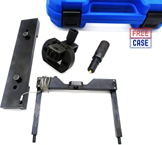 Detroit Diesel DD15 DD16 Engine Timing Tool Bundle Includes TDC Locating Pin Barring and Camshaft Timing Tools Heavy Duty Solid Steel Alternative to W470589104000 W470589001500 J 46392 W470589046300